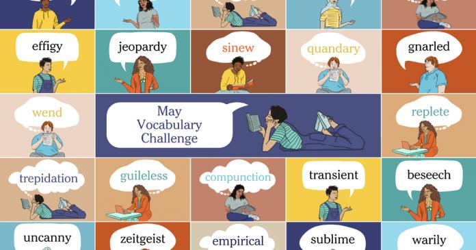 May Vocabulary Challenge