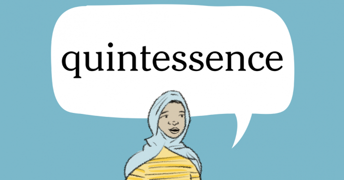 Word of the Day: quintessence