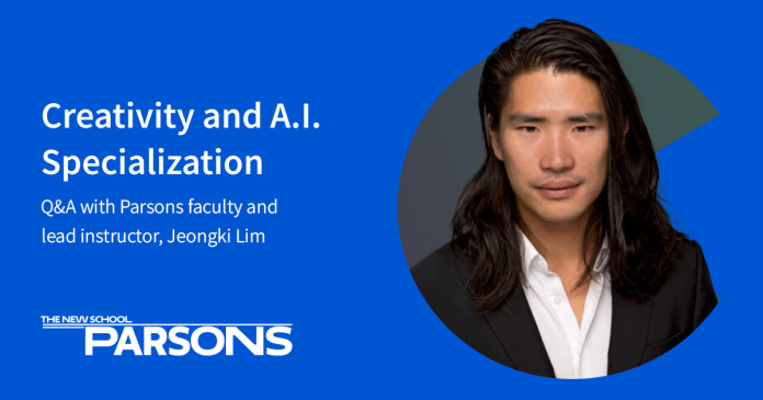 Can Machines be Creative? An Interview with Jeongki Lim: Instructor, Creativity and A.I. Specialization, Parsons School of Design, The New School