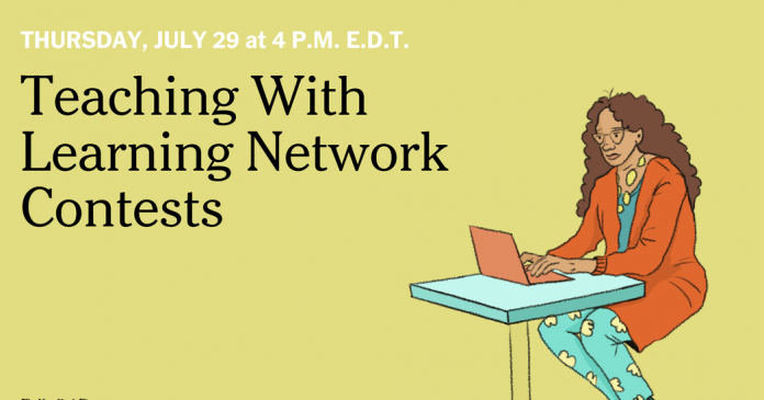 Live Webinar: Teaching With Learning Network Contests