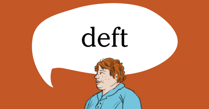 Word of the Day: deft